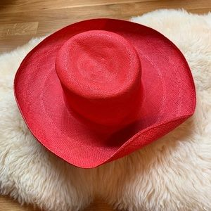 Vintage Kentucky Derby Southern Red Union Made Hat